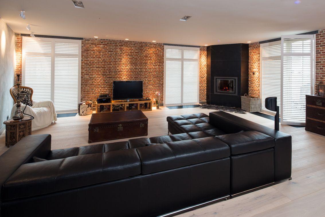 Met shutters in de woonkamer heeft u een prachtige en waardevolle ...