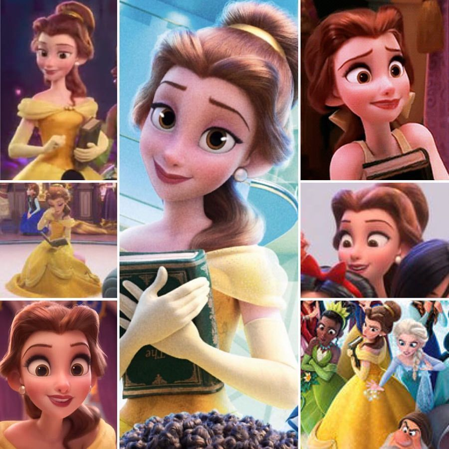 In One Week Belle S Gonna Wreck It It S The Final Countdown To Ralph Breaks The Interne Disney Princess Art All Disney Princesses Disney Sketches