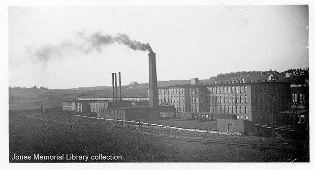 Lynchburg Virginia post card - Cotton Mill