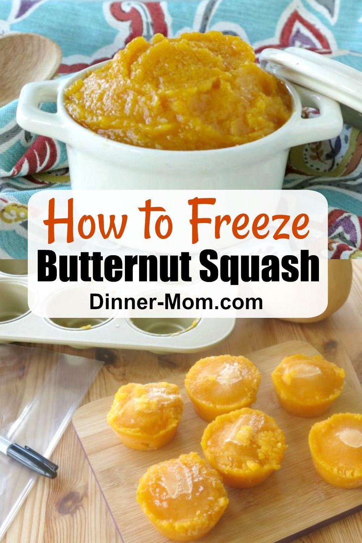 Crockpot butternut squash puree recipe butternut