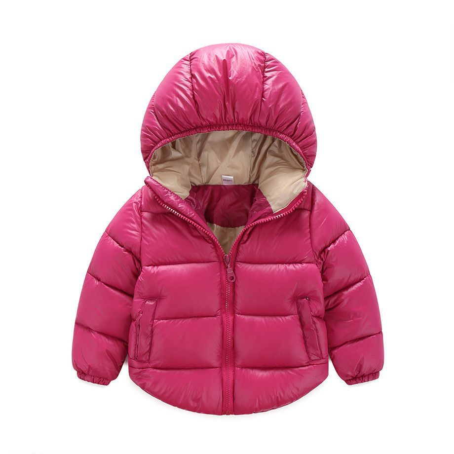 3e4d9ee63b5b 7-24 months Winter Newborn Baby Snowsuit Cotton Girls Coats And ...