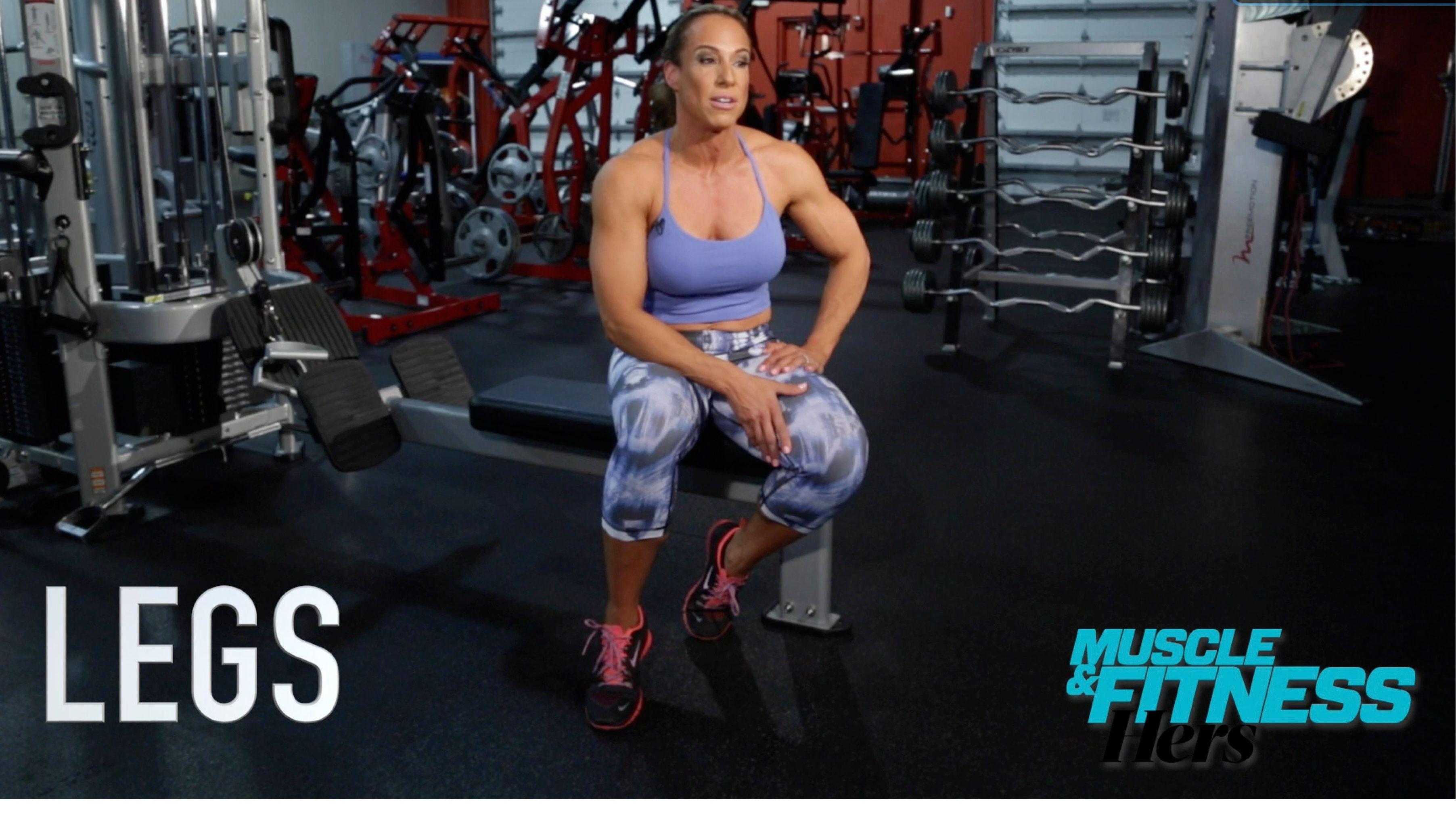Dany Garcia's Superhero Series: Leg Workout | training ...