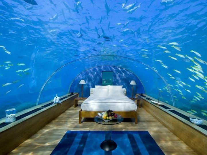 Los hoteles de 5 estrellas en todo el mundo hotel for Hoteles bajo el agua espana