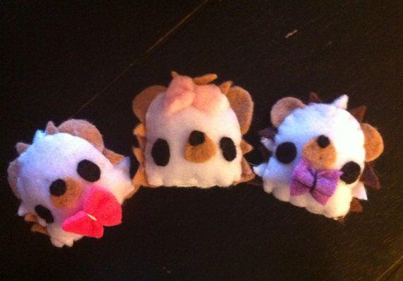 Custom Hedgehog Cage Toys by SuchPlushSewWow | Hedgehog ...