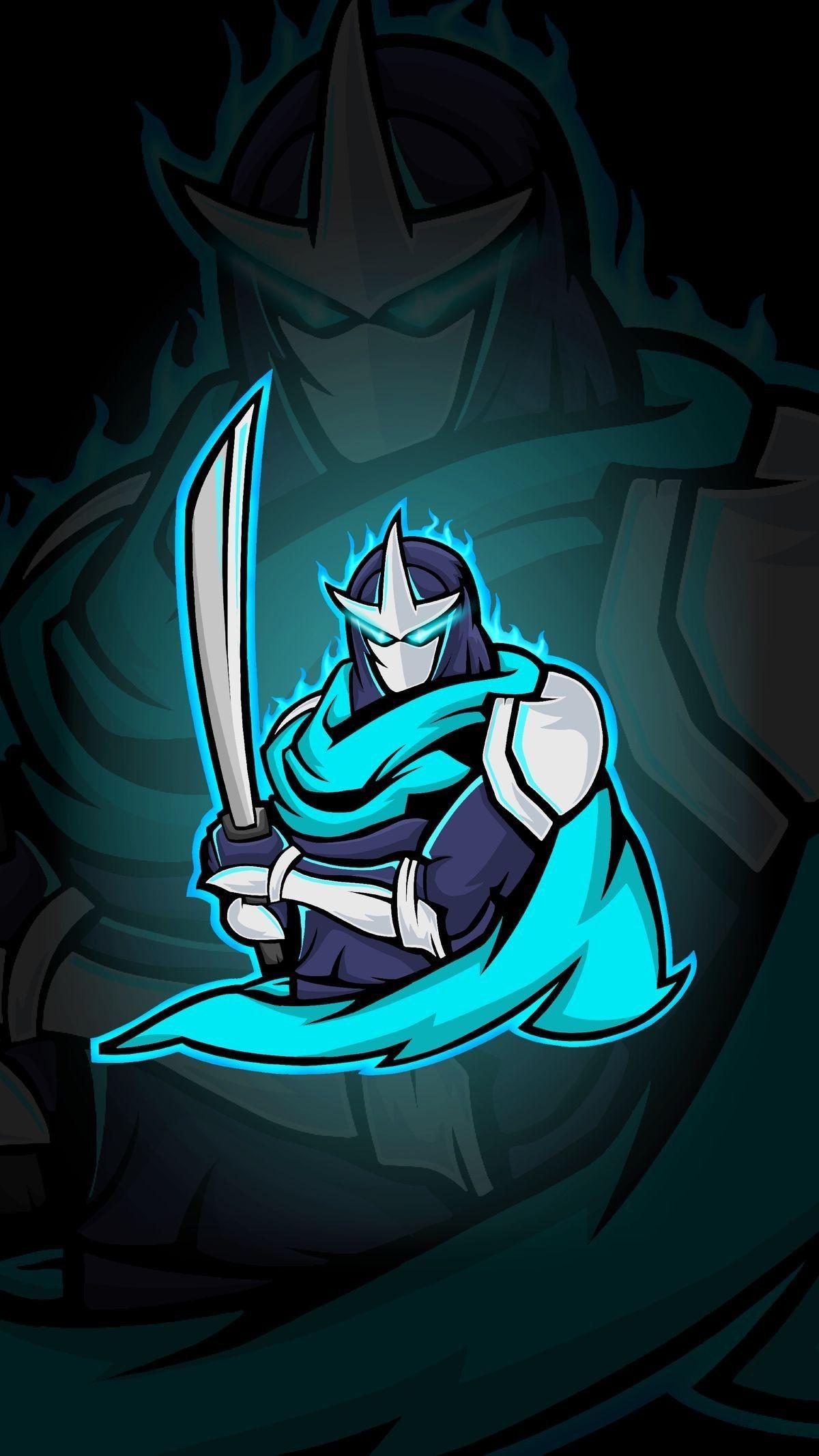 Pin oleh Mavi FALCON di Gaming Mascot Logo Gambar naga