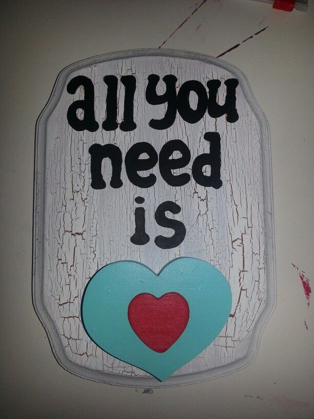 All you need is ❤