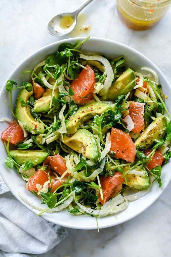 12 gesunde Sommersalate zubereiten, wenn die Hitze einfach zu groß ist - Samantha Fashion Life #ideassummer