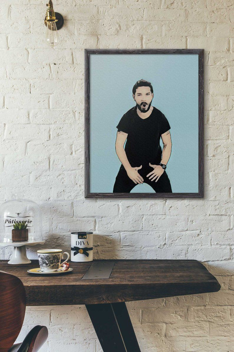 Just Do It Poster Shia Labeouf Poster Just Do It Print