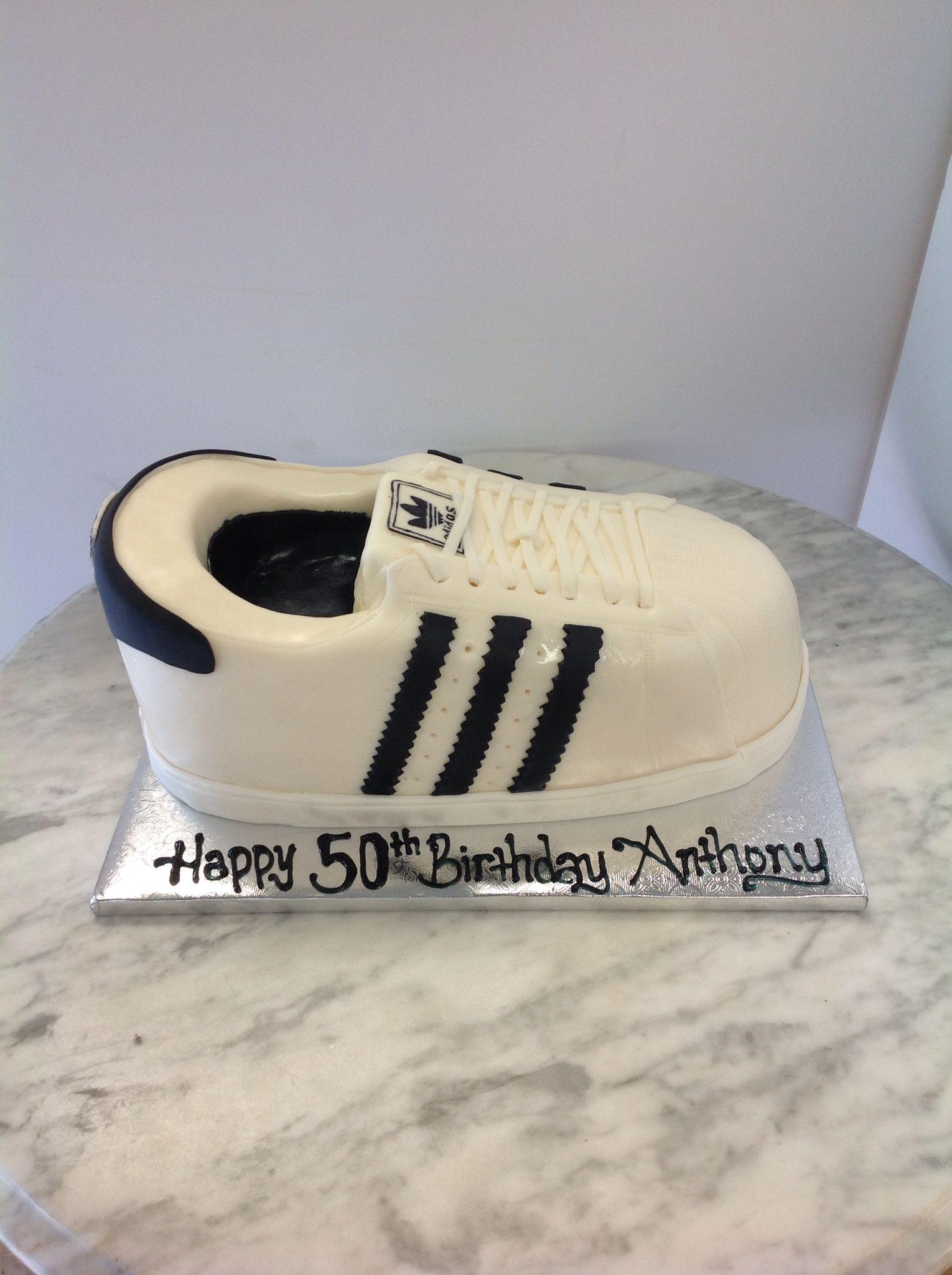 adidas superstar cake