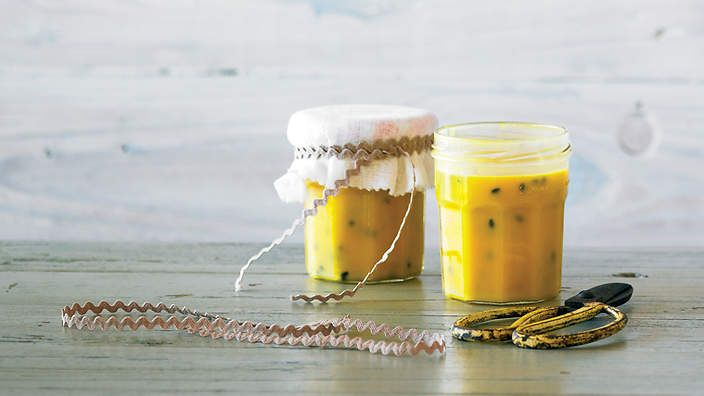 Passionfruit curd recipe : SBS Food