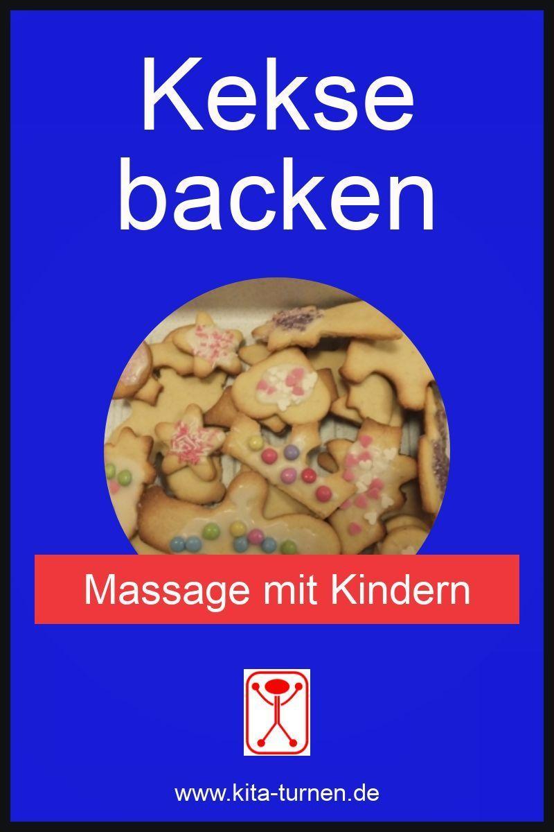 Keksbackmassage für Kinder – Massage kindgerecht
