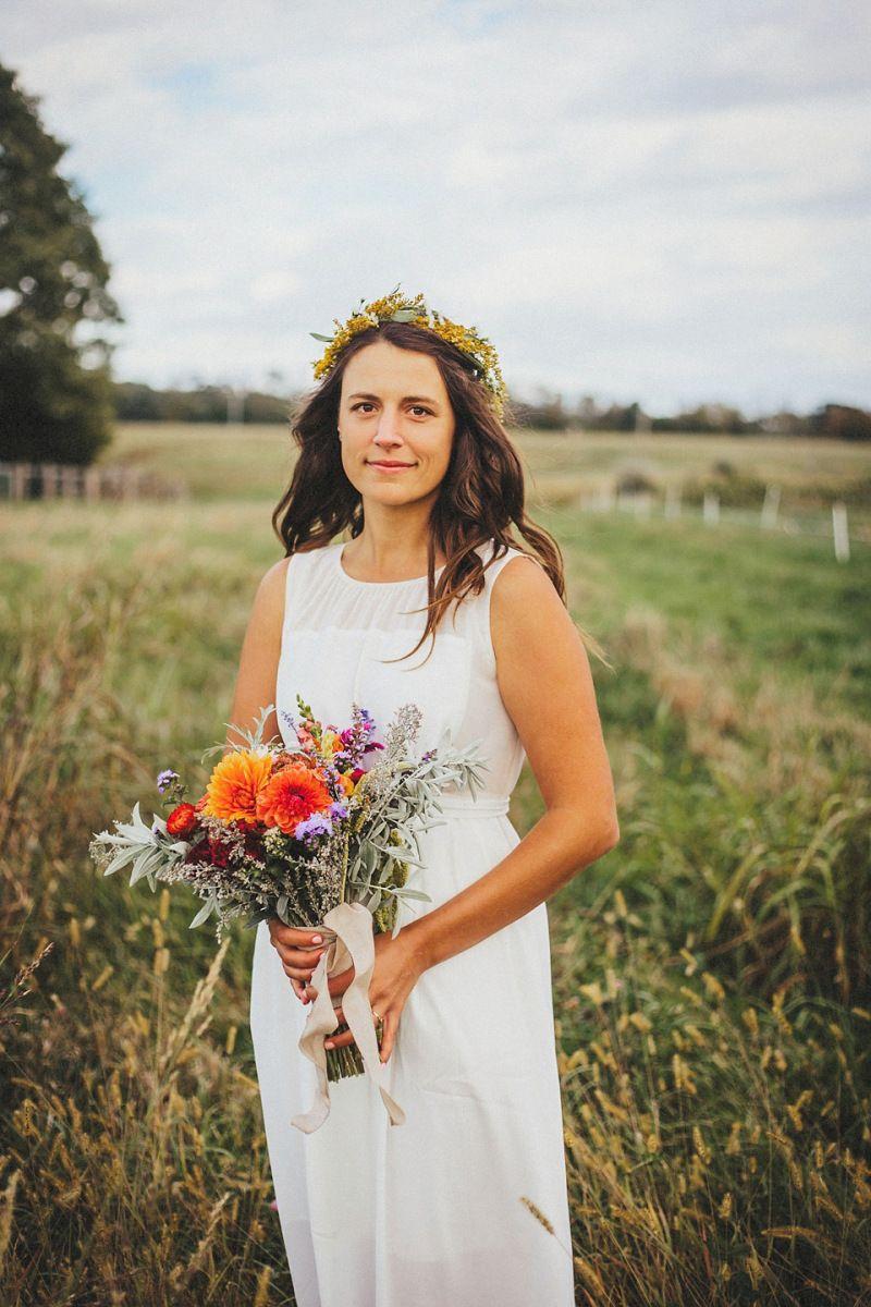 A Madewell Wedding Dress For Homespun And Rustic On The Farm