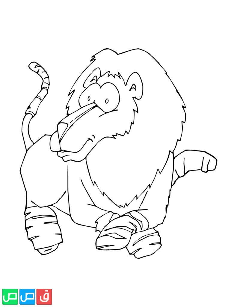 رسومات اطفال للتلوين حيوانات Art Character Fictional Characters