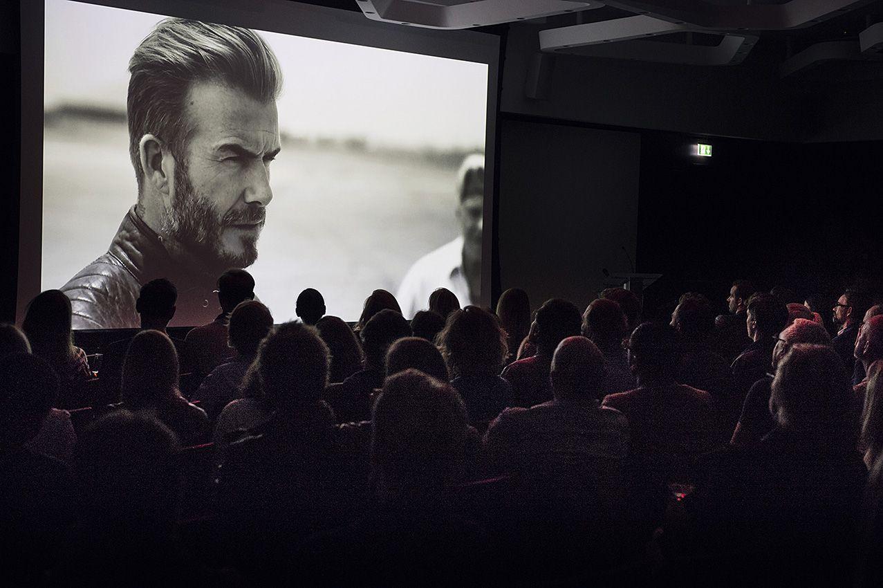 """Event Photography: Presentation of new  BELSTAFF collection """"Outlaws"""" from David Beckham in Munich.  Photo: Benedikt Haack benedikthaack.com"""