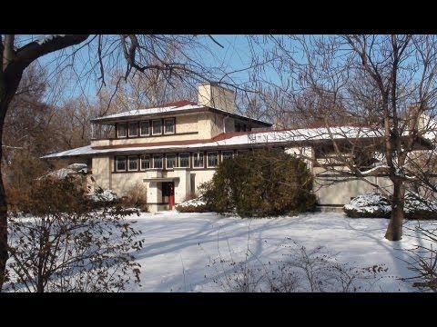 Frank Lloyd Wright In Riverside Il The Tomek House Youtube