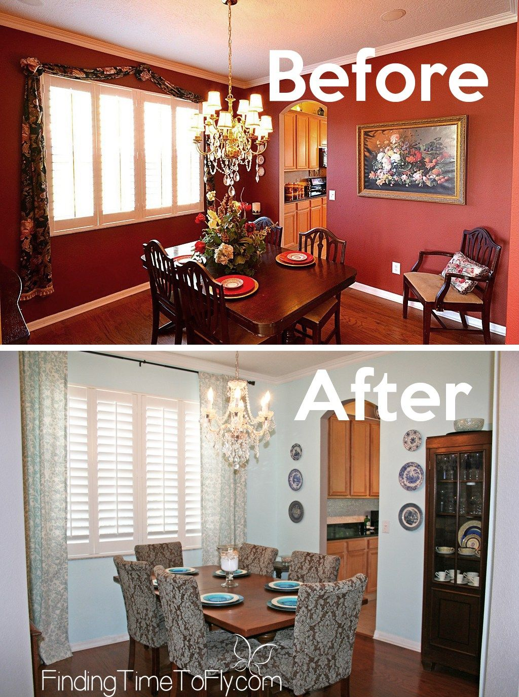 Dining Room Makeover On A Budget Dining Room Makeover Dining