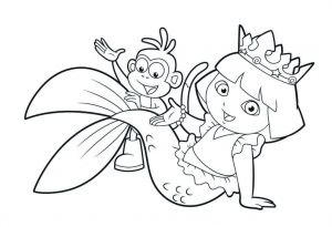 30 Stunning Mermaid Coloring Pages Cute Coloring Pages Coloring