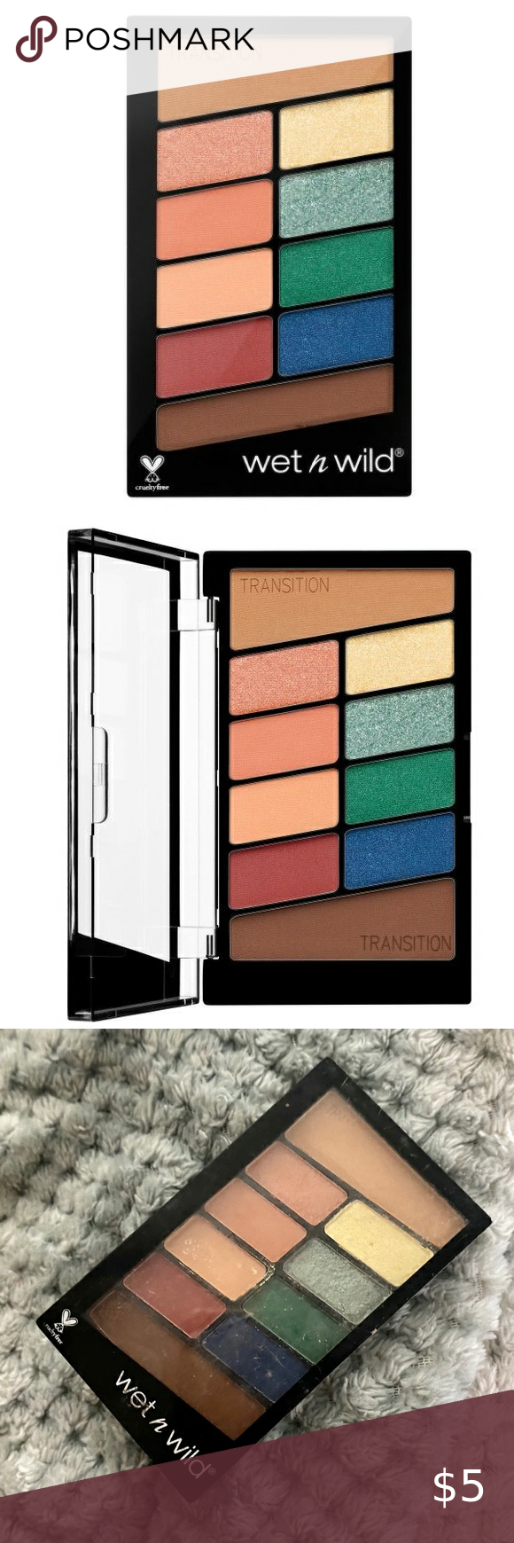 Sold Wet N Wild Color Icon Eyeshadow Palette In 2020 Eyeshadow Palette Eyeshadow Wet N Wild Makeup