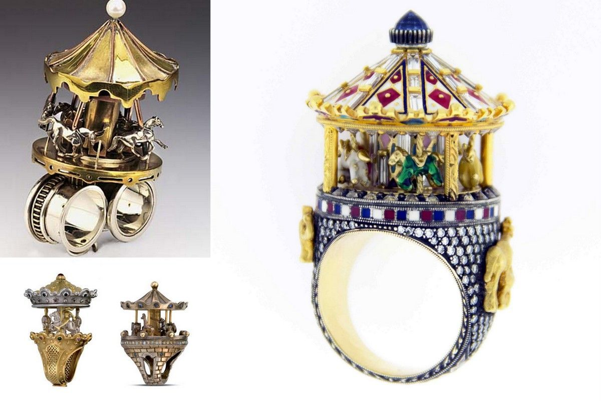 Architectural Rings How To Wear Cities