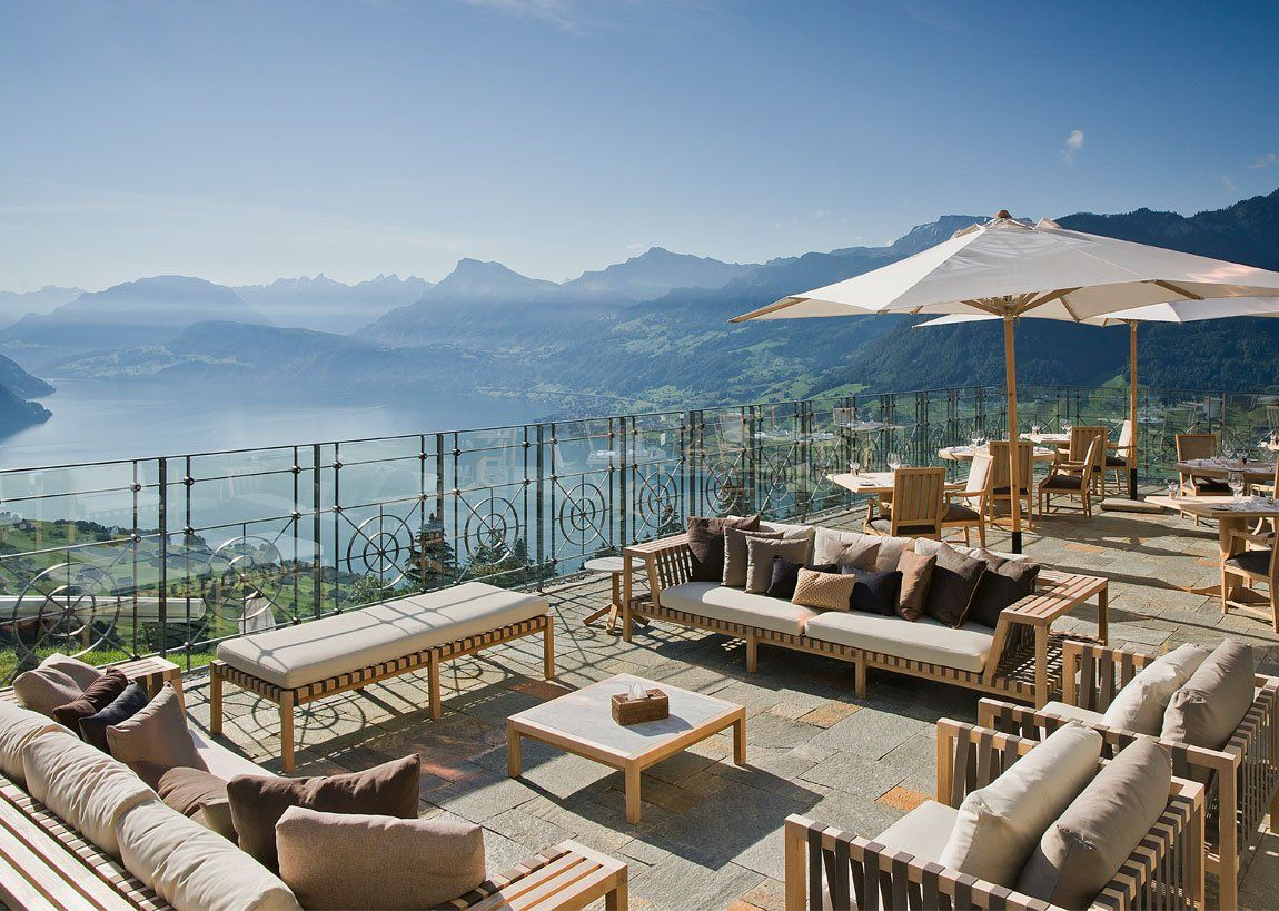 Hotel Villa Honegg Is A Unique 5 Star Boutique On The Bürgenstock Near Lucerne
