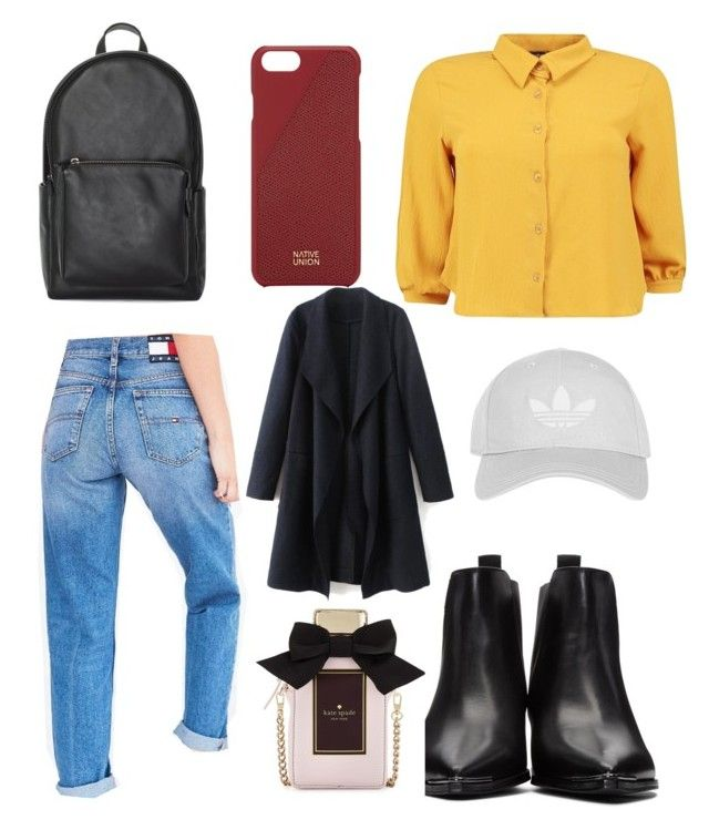"""""""Lækker❤️😘"""" by annadamr on Polyvore featuring beauty, Boohoo, Tommy Hilfiger, Acne Studios, Native Union, Topshop and Kate Spade"""