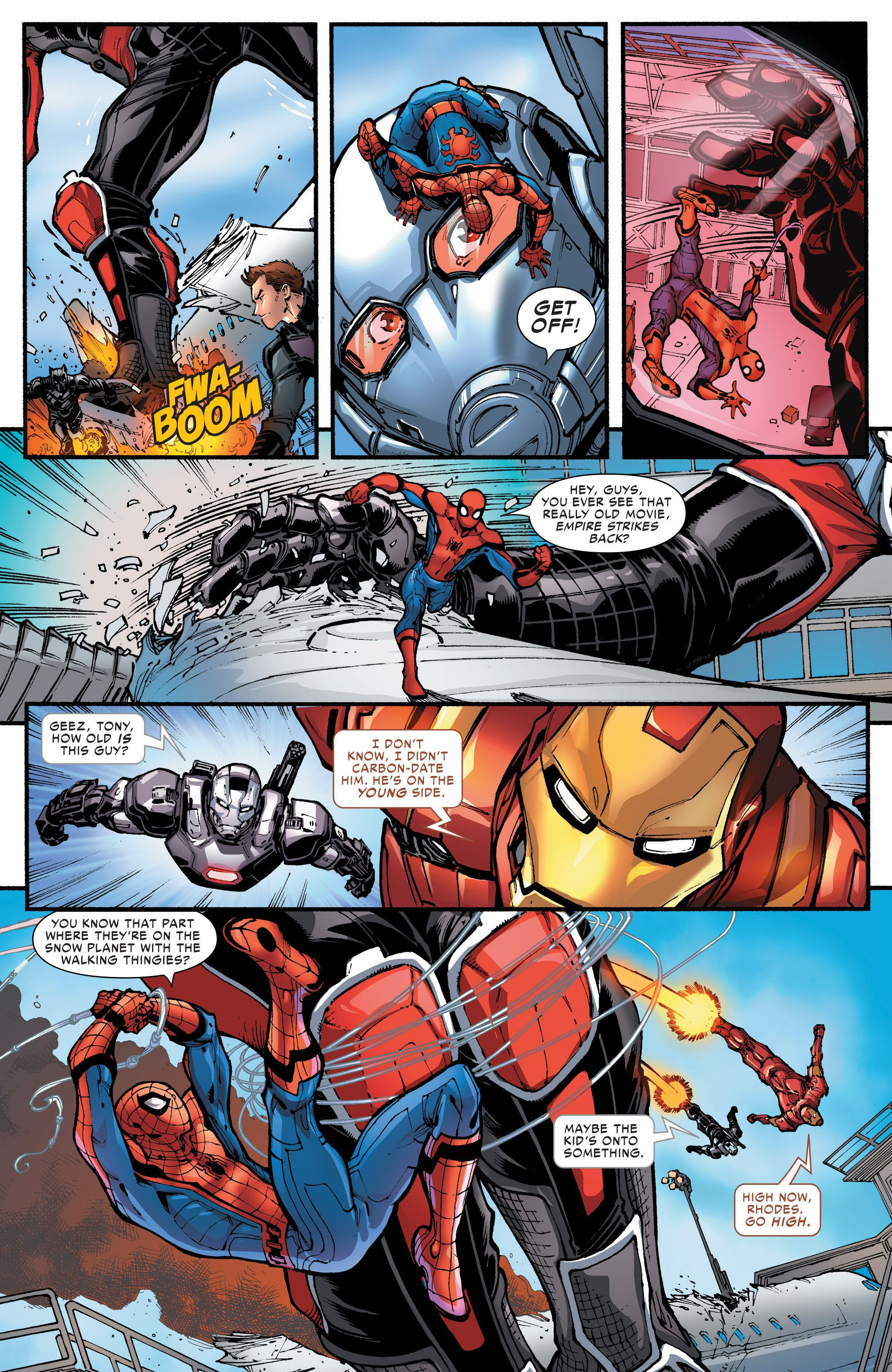 spider man homecoming prelude issue 2 read spider man homecoming prelude issue 2 comic. Black Bedroom Furniture Sets. Home Design Ideas
