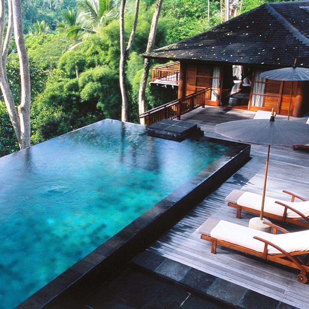 Bali, Indonesia. Hotel swimming pool, Swimming pool