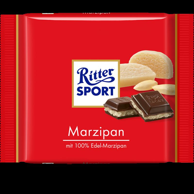 RITTER SPORT Marzipan Dark Chocolate Ritter sport