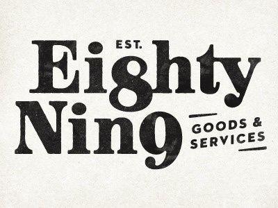 Eighty Nine in Logos