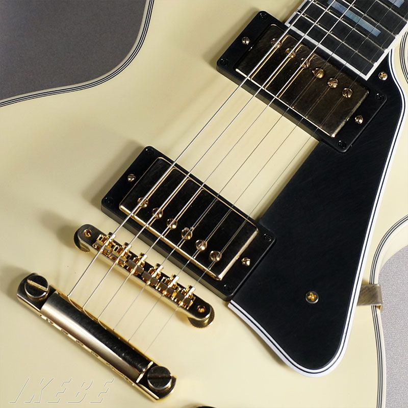 Gibson CUSTOM SHOP Custom Collection Les Paul Custom VOS 2014 Japan Limited Run (Classic White)5