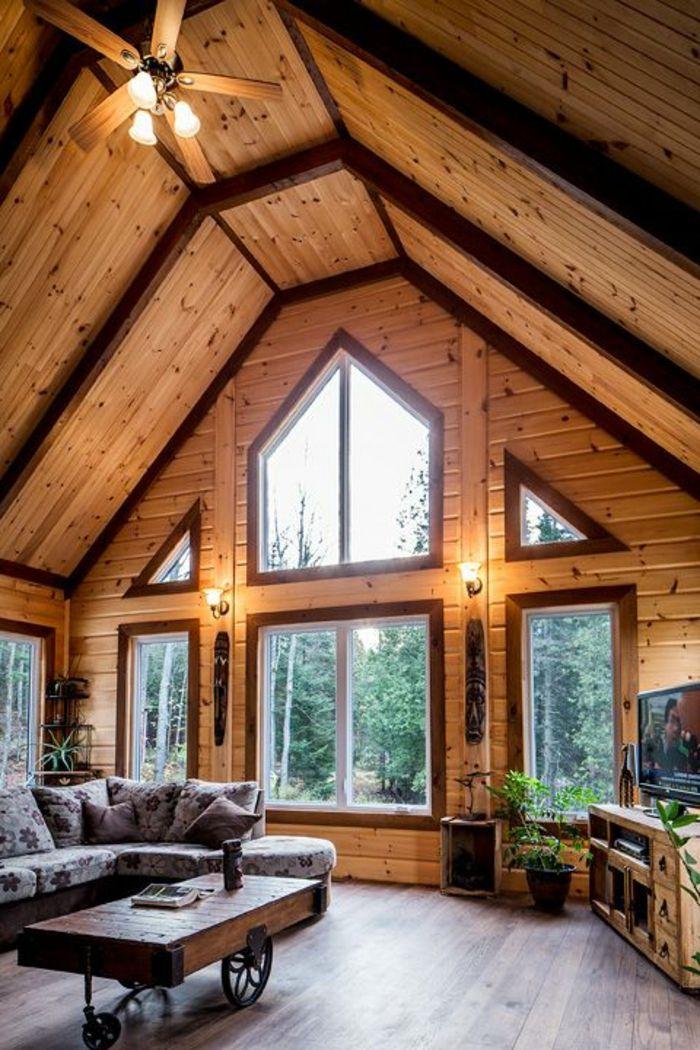 Quel type d\'intérieur pour votre chalet en bois habitable ...