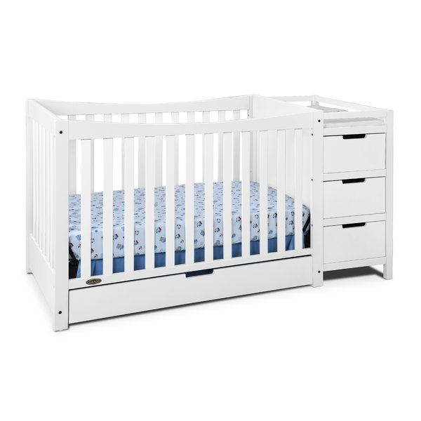 Remi 3 In 1 Convertible Crib And Changer Combo Reviews Allmodern Convertible Crib Discount Bedroom Furniture Unique Home Decor