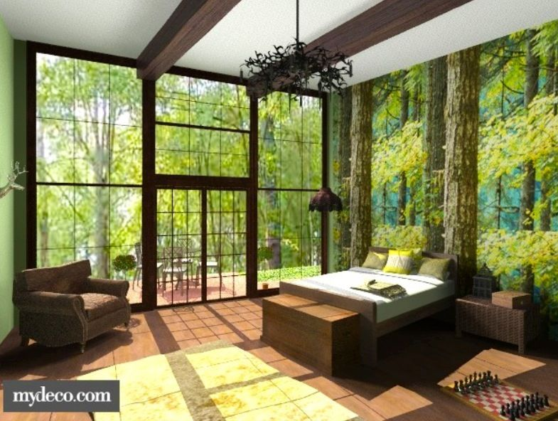 Room · Magical Forest Bedroom