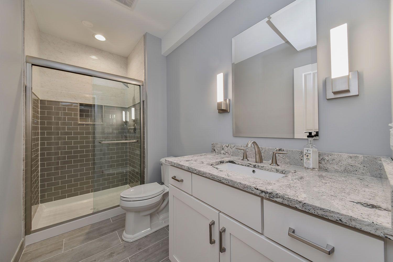 Naperville Basement Bathroom Remodeling Project  Sebring Design Stunning Bathroom Remodeling Naperville Decorating Design