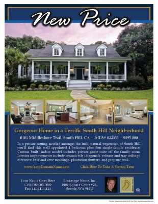 Lakeshore Design - Real Estate Flyer Sample wwwZipYourFlyer