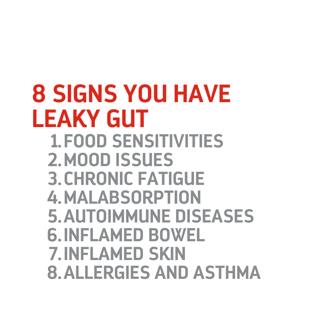 8 Signs You Have Leaky Gut and How To Resolve It