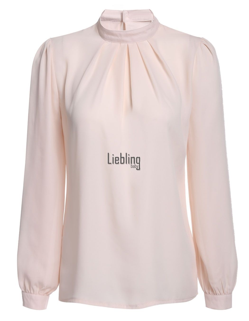 Informal Mujer Blusa Chifón Manga Larga camiseta de Holgado Corto Suéter  LEBB 6 • EUR 2 ceb3b264fb6dc