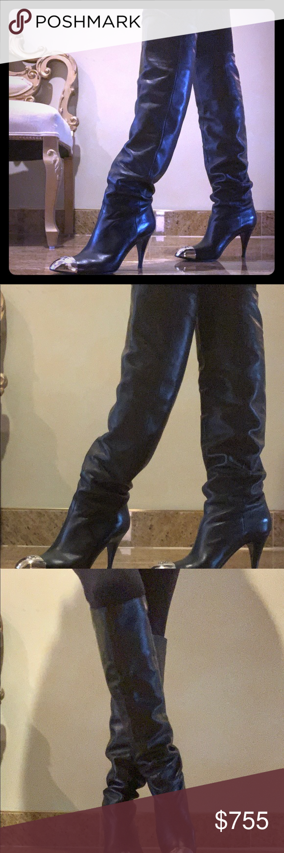 600f39c7aed Chanel boots Fabulous Chanel high boots