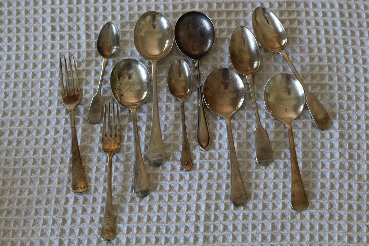 How to clean your silver, safely. Diy crafts, Cleaning