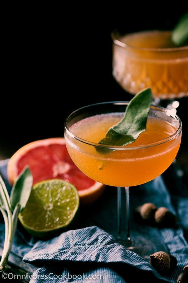 Sage Brown Derby (Whiskey and Grapefruit Cocktail) #grapefruitcocktail Sage Brown Derby (Whiskey and Grapefruit Cocktail) #grapefruitcocktail