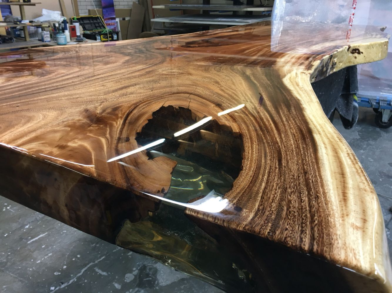 Epoxy Paint For Wood : Transparent resin wood working pinterest woods