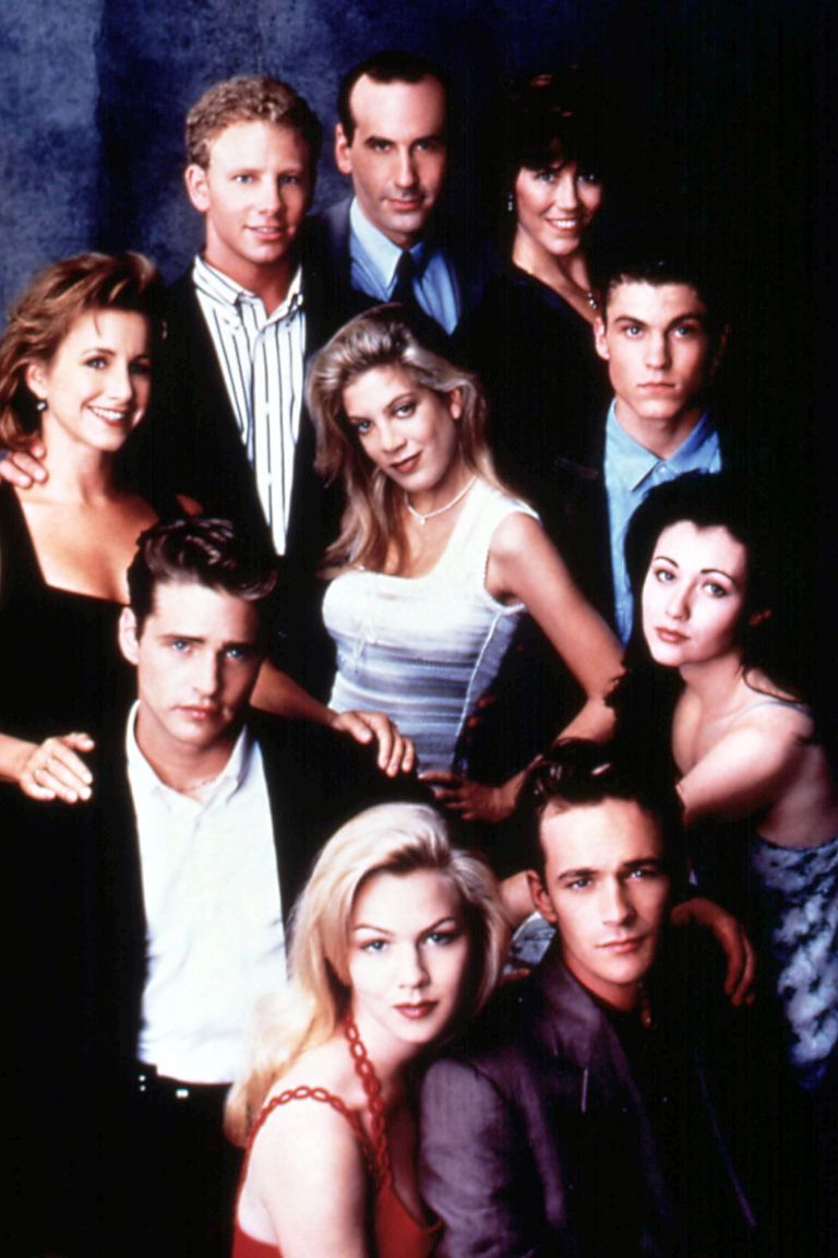 Luke Perry S Life In Photos Beverly Hills 90210 Jennie