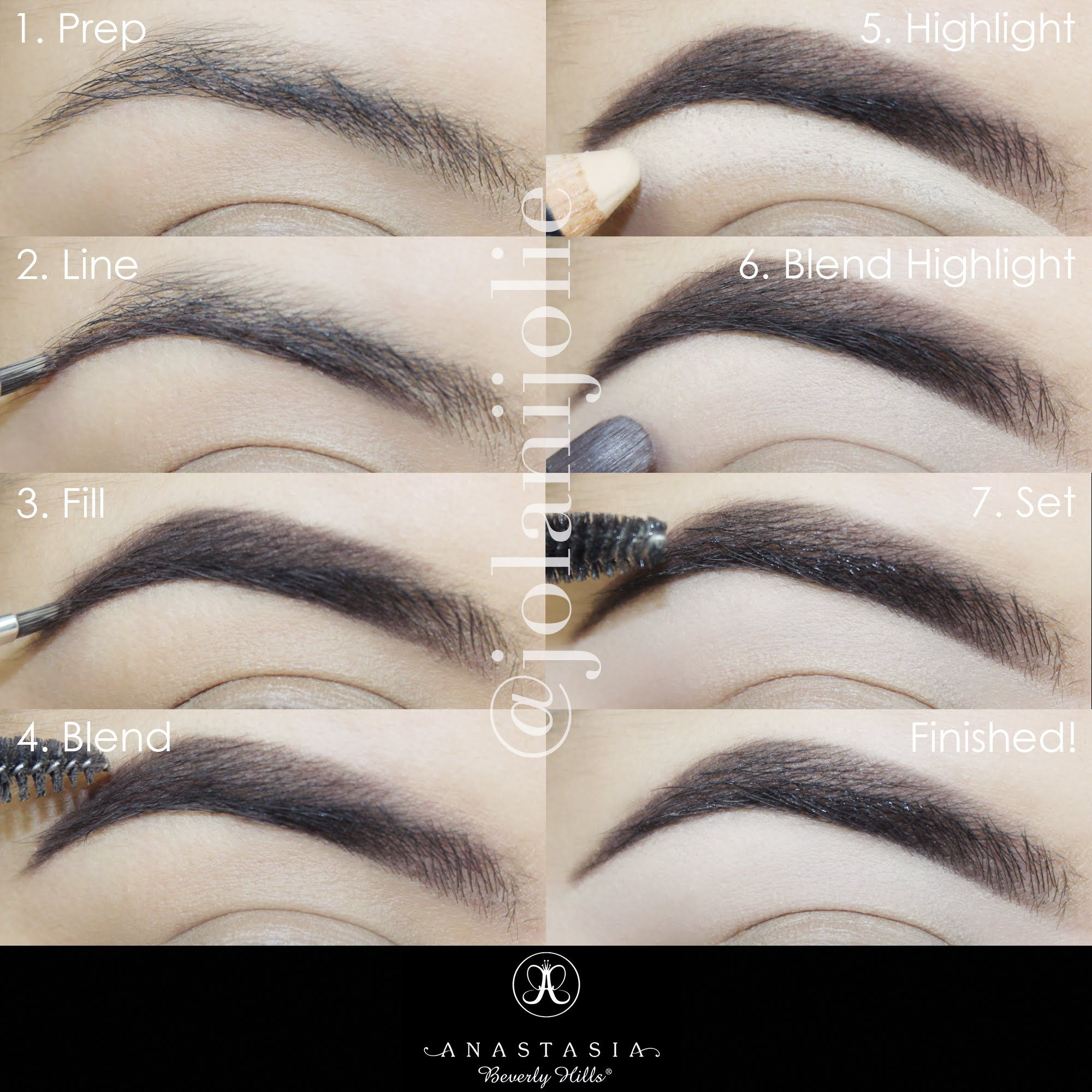 Learn how to get flawless eyebrows with this 7 step brow pictorial. Finally, the perfect eyebrow shape made simple.