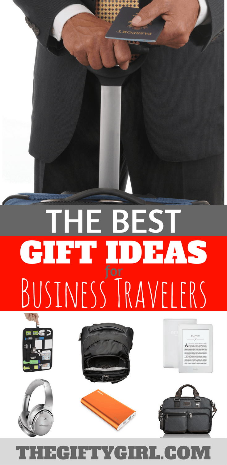 if you have a business traveler on your list here are creative gift ideas for him or her giftideas businestravel traveler traveler giftsforhim