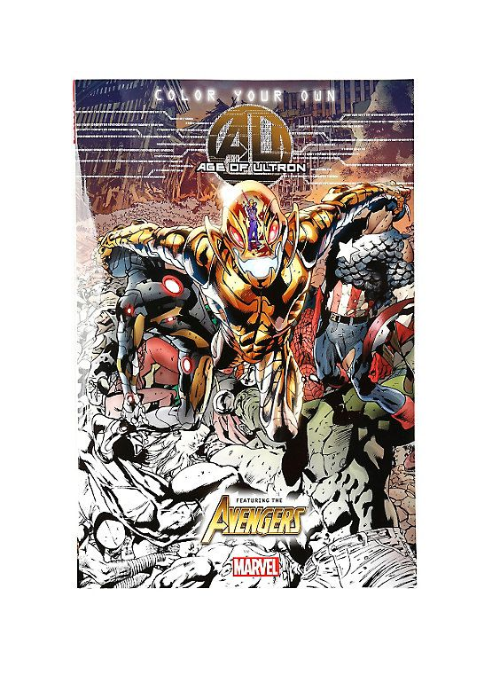 Marvel Color Your Own Age Of Ultron Book, | Wish List: Marvel ...