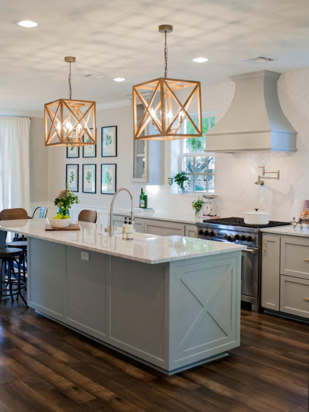 Classic Kitchen Lighting Classic Kitchen Island Lighting Never Goes Out Of Style Hgtv