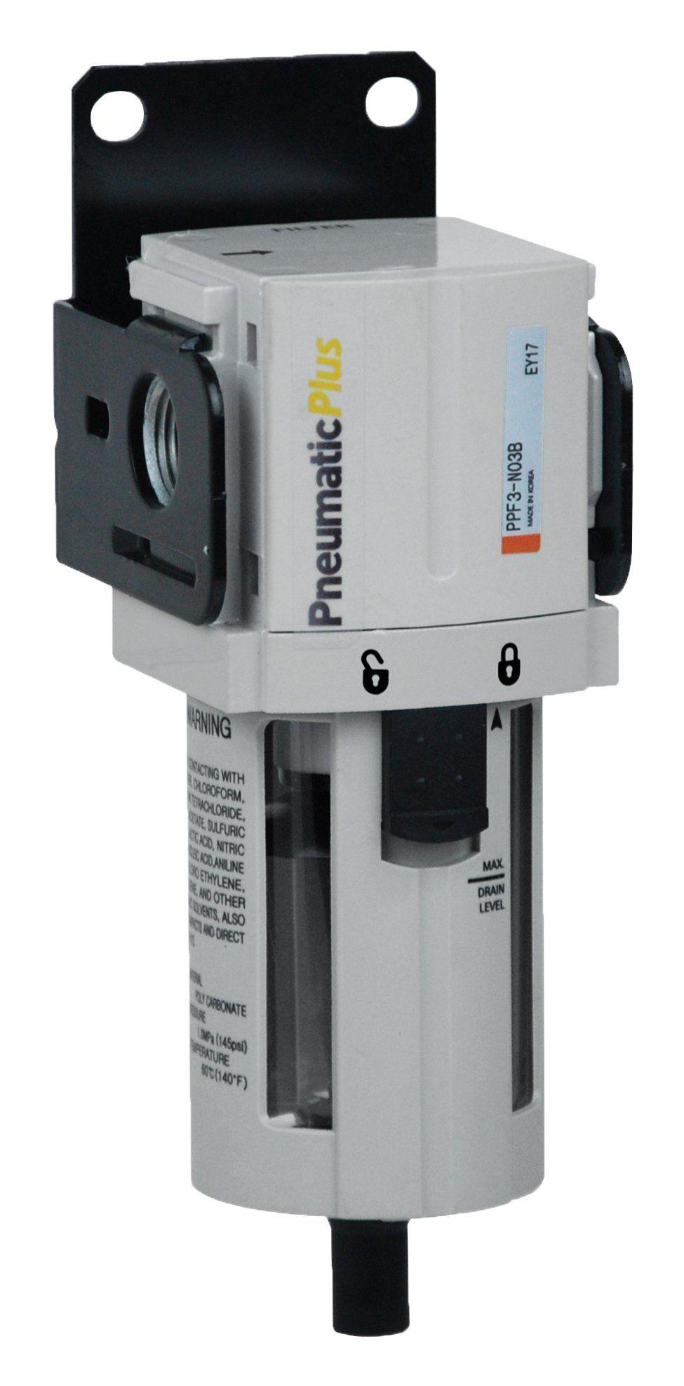 PneumaticPlus PPF3N02B Compressed Air Particulate Filter 1