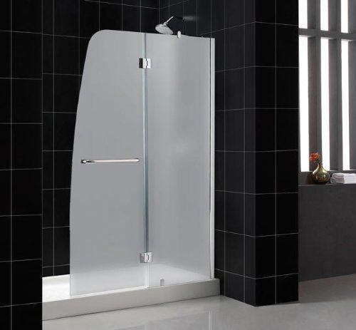 Dreamline Aqua 48 X 58 Frosted Glass Bathtub Door By Dreamline 464 95 A Complete Aqua Door Installation Consis Shower Doors Modern Shower Doors Glass Shower