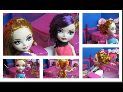 Cute Dolls Hairstyles Ever After High Barbie Doll Hair Styles