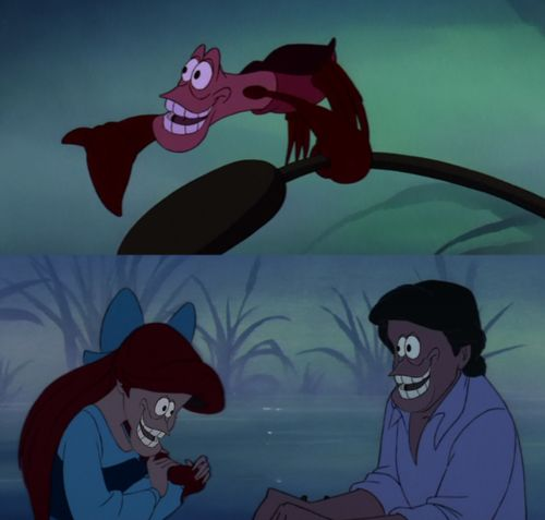 Disney face swaps are waaaay more funny than they should be.